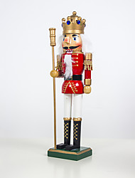 cheap -Decorative Objects  European and American Painted Wooden Walnut Soldier Ornaments