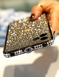 cheap -Phone Case For Apple Bumper iPhone 12 Pro Max 11 SE 2020 X XR XS Max 8 7 Shockproof Rhinestone Solid Color Metal