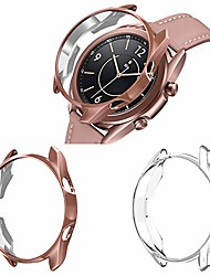 cheap -2-pack bumper case compatible with samsung galaxy watch 3 41mm, plastic protector case cover frame for galaxy watch 3 41mm bluetooth/lte [all-around shock-proof]