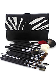 cheap -NMKL24 animal hair professional makeup brush studio makeup artist makeup tool multifunctional set factory direct sales