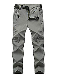 cheap -Hiking Pants Trousers Outdoor Breathable Quick Dry Sweat-wicking Wear Resistance Cargo Pants Bottoms Multi-piece wholesale contact customer service Type A-Shallow Army-Male [Quick-drying Waterproof