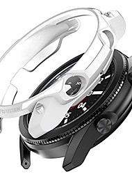 cheap -samsung galaxy watch 3 45mm armor designed rugged protective case,fall protection durable protective tpu flexible shock proof resist bumper case cover for galaxy watch 3 45mm sm-r840,white