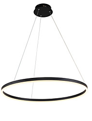 cheap -80 cm Circle Design Chandelier Aluminium Alloy Acrylic Brushed Contemporary Modern 110-120V 220-240V
