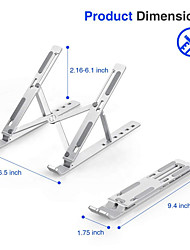 cheap -bestand N3 Desktop Laptop Laptop Stand Holder Aluminum Alloy Portable Foldable Adjustable Angle Adjustable Height Fan
