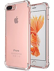 cheap -for iphone 7 plus case, for iphone 8 plus case, crystal clear shock absorption technology bumper soft tpu cover case for iphone 7 plus (2016)/iphone 8 plus (2017) - clear