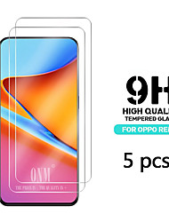 cheap -OPPOScreen ProtectorOPPO R11s High Definition (HD) Front Screen Protector 5 pcs Tempered Glass