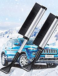 cheap -Automobile Aluminum Alloy Telescopic Snow Brush Ice Shovel Automobile Snow Removal Shovel Deicing Shovel Winter Snow Shovel