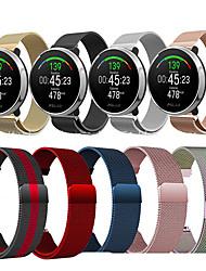 cheap -Watch Band for POLAR IGNITE / POLAR VANTAGE M / Polar Grit X Polar Milanese Loop Stainless Steel Wrist Strap