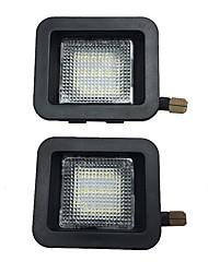 cheap -2Pcs 3W 12V 6500K SMD LED License Plate Light Lamp Housing For  Ford F-150 2015-2019 Ford F-150 Raptor 2015-2019