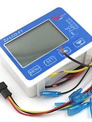 cheap -ZJ-LCD-F7 flow sensor meter digital display filter controller LCD for RO water machine filter