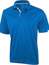 cheap -mens kiso short sleeve polo (xl) (blue)