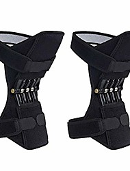 cheap -breathable joint support knee pads recovery brace - non-slip pain relief knee lift leg band - protective sports knee stabilizer pads rebound spring force knee power enhancer booster