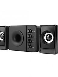 cheap -speakers  D-205 Mini USB 2.1 Bass Computer Subwoofer Speaker Bluetooth Version (Black) bluetooth speaker waterproof new