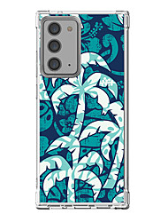 cheap -Floral / Botanical Case For Samsung Galaxy S21 Galaxy S21 Plus Galaxy S21 Ultra Unique Design Protective Case Shockproof Back Cover TPU