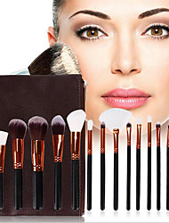 cheap -15 Makeup Brushes Eye Makeup Brush Set Eyeshadow Brush Beauty Tools