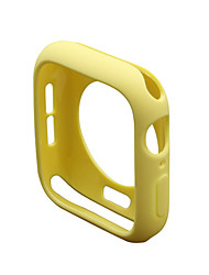 cheap -Cases For Apple Watch Series 6 / SE / 5/4 44mm / Apple Watch Series 6 / SE / 5/4 40mm Silicone Compatibility Apple