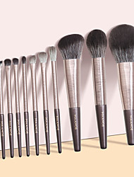 cheap -The New 13 Lily of The Valley Makeup Brush Little Grape Series Giant Soft Eye Shadow Powder Brush Set