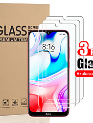 cheap -3 PCS Protector Screen for Redmi 8/8A/7A/7/6/6A/Note 9/Note 9s/Note 9 Pro/Note 9 Pro Max /Note 8 High Definition (HD) / 9H Hardness Tempered Glass