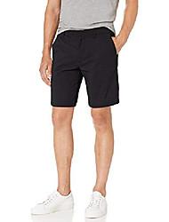 "cheap -amazon brand - men& #39;s 9"" inseam hybrid short, black 31"