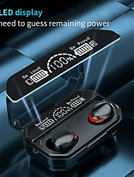 cheap -A17 Wireless Earbuds TWS Headphones Bluetooth5.0 Stereo with Volume Control with Charging Box Mobile Power for Smartphones Smart Touch Control for Mobile Phone