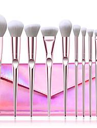 cheap -Factory direct sale 10 wet and wild makeup brush set eye shadow brush loose powder brush laser bag beauty tools