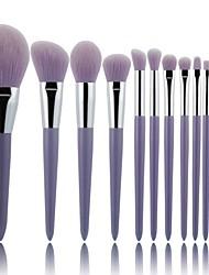 cheap -12 Pcs makeup brush set loose powder blush eye shadow eye socket eyebrow brush makeup brush