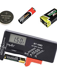 cheap -Digital Battery Capacitance Diagnostic Tool LCD Screen Battery Tester Universal AAA AA Button Cell Tester