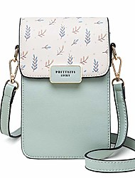 cheap -small crossbody phone bags for women, multi pocket cellphone purse wallet with credit card slots for travel