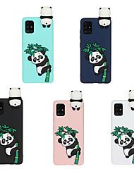 cheap -Phone Case For Samsung Galaxy Back Cover S20 Plus S20 Ultra S20 S9 S9 Plus S8 Plus S8 Note 9 Note 8 Note 20 Ultra Frosted DIY Cartoon 3D Cartoon Panda TPU