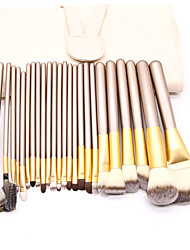 cheap -Professional Makeup Brushes 24pcs Soft Full Coverage Artificial Fibre Brush Wooden / Bamboo for Makeup Brush