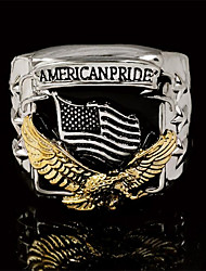 cheap -Band Ring Classic Silver Gold Copper Gold Plated Eagle Fashion 1pc 9 10 11