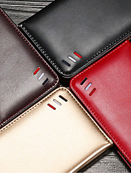 cheap -Case For OPPO Reno 3 5G / Reno 3 Pro 5G / Find X2 Lite / Find X2 Neo / Reno 10X Zoom Card Holder Flip Full Body Cases Solid Colored PU Leather TPU