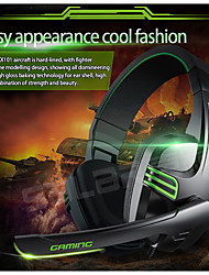 cheap -3.5mm Wired Earphone Gaming Headset PC Gamer Stereo Headphone with Microphone for Computer PC Gamer