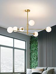 cheap -108 cm Premium Pendant Light Copper Chandelier Nordic Luxury Gold 220-240V