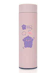 cheap -450ml Animal Cute 304 Stainless Steel Tumbler Insulated Water Bottle Portable Vacuum Flask for Travel Cup Colorful Coffee Mug