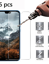 cheap -Huawei Screen Protector Huawei Mate 40 Mate 30 Mate 30 Lite Nova 8 P Smart2021 Honor X10 P40 P30 Honor X10 High Definition HD Front Screen Protector 5 pcs Tempered Glass