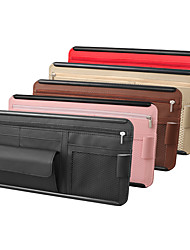 cheap -Car Organizers CD Case PU Leather For universal All years