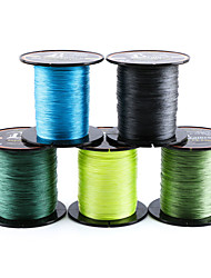 cheap -PE Braided Line / Dyneema / Superline 8 Strands Fishing Line 300M / 330 Yards PE 80LB 70LB 60LB Wear-Resistant Abrasion Resistant