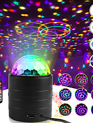 cheap -Bluetooth Sound Activated Strobe Light Crystal Magic Ball Party Lights Rotating Disco XMAS LED Stage Lights Home Projector Lamp