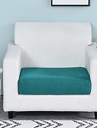 cheap -1 Piece Easy-Going Stretch Cushion Cover Sofa Cushion Furniture Protector Sofa Seat Cover Sofa slipcover Sofa Cover Soft Flexibility with Elastic Bottom