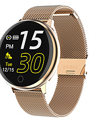 cheap -Q16 Color Screen Round Screen Smart Bracelet Health Monitoring Information Reminds Multi-sports Mode Exercise