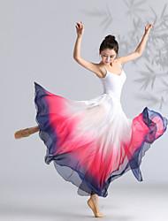 cheap -Ballet Skirts Bandage Women's Girls' Ladies Training Performance High Elastane