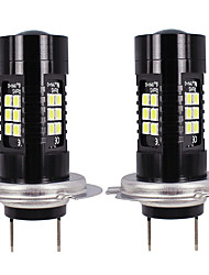 cheap -OTOLAMPARA 2pcs H7 Car Light Bulbs 21 W SMD 3030 2100 lm 21 LED Car Canbus Light For Volkswagen / Mazda / BMW X3 / Countryman / 3 Series 2018 / 2008 / 2015