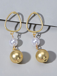 cheap -Women's Drop Earrings Fashion Earrings Jewelry Gold For Party Evening Festival