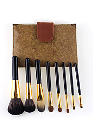 cheap -8 portable pony hair makeup brushes beauty tools in stock wholesale