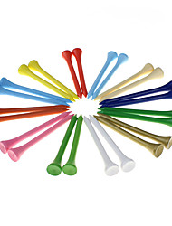 cheap -70MM Golf Tees 100pcs 100 Pieces Plastic Professional Golf Accessories Durable For Intermediate Golf Training Competition