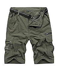 cheap -Hiking Shorts Summer Outdoor Breathable Quick Dry Sweat-wicking Wear Resistance Cargo Pants Bottoms Sapphire Army Green Long Wholesale can contact customer service Dark blue long Gray long Camping