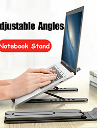 cheap -Adjustable Foldable Laptop Stand Non-slip Desktop Laptop Holder Notebook Stand sFor Notebook MacbookProAir2020 iPadPro2020