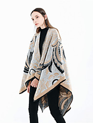 cheap -Sleeveless Artistic / Retro / Shawls Imitation Cashmere Party / Party / Evening Shawl & Wrap / Women's Wrap With Patterned