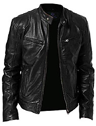 cheap -leather jackets for men – men's leather jackets (large) black